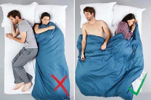 5 kiểu ngủ của vợ chồng báo trước rạn nứt hôn nhân-2