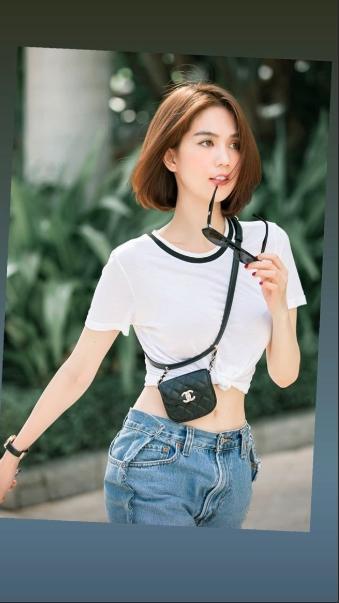 Cứ ngỡ Ngọc Trinh mặc quần ngược ra đường, hóa ra là bắt chước Kendall Jenner-5