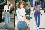 Cứ ngỡ Ngọc Trinh mặc quần ngược ra đường, hóa ra là bắt chước Kendall Jenner