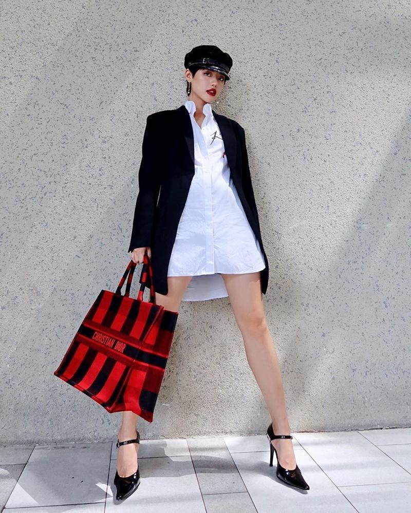 Vượt mặt Ngọc Trinh, Khánh Linh là mỹ nhân Vbiz đầu tiên sở hữu túi Chanel độc lạ có giá gần nửa tỷ-4