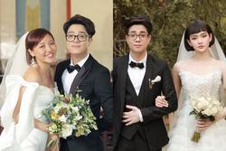 Bùi Anh Tuấn 1 năm 'cưới vợ' 2 lần, fan trả lời cực lầy khi được hỏi Hiền Hồ hay Văn Mai Hương ai xứng làm 'chị dâu'