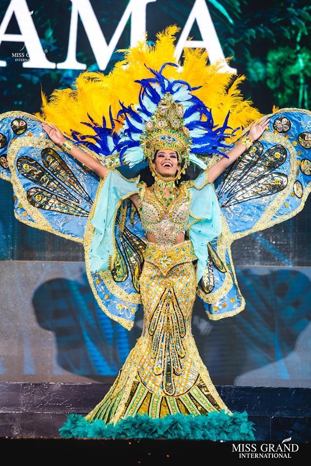 Top 10 quốc phục đẹp nhất Miss Grand International 2019, trong đó có thí sinh giống Mạc Văn Khoa-9