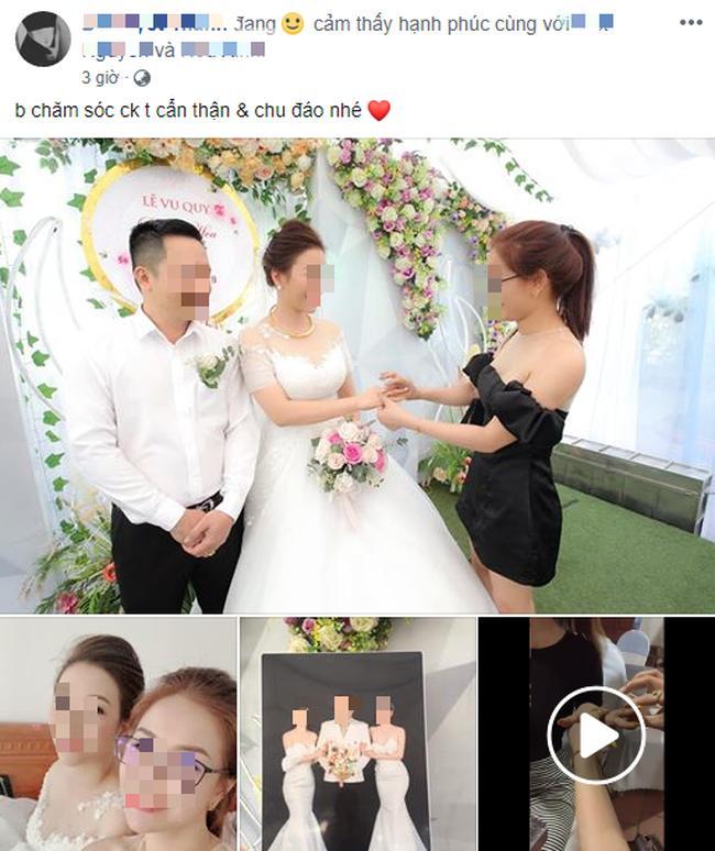 Xôn xao bức ảnh cưới 1 chú rể 2 cô dâu ôm nhau thắm thiết đầy hạnh phúc-4