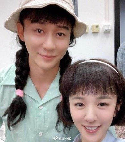 Lộ ảnh Lý Thần cùng bạn gái tin đồn Vương Hiểu Thần trên phim trường-8