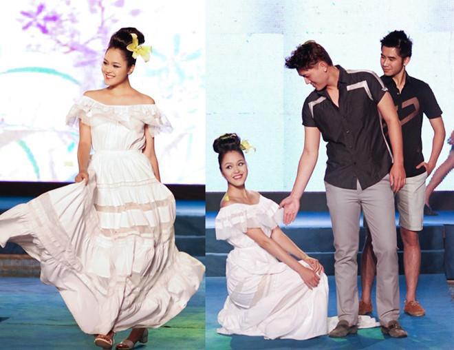 Mỹ nhân Việt ghi điểm với hành động đẹp, cứu đồng nghiệp trên sàn diễn thời trang-12