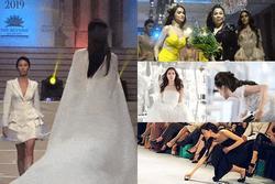 Mỹ nhân Việt ghi điểm với hành động đẹp, cứu đồng nghiệp trên sàn diễn thời trang