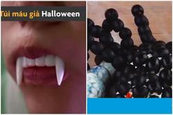 Tự làm túi máu giả, não người thành đồ ăn cho bữa tiệc Halloween