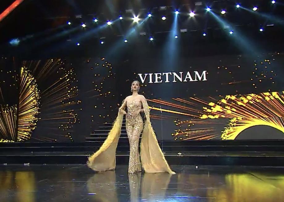 Kiều Loan mặc jumpsuit trình diễn dạ hội, khán giả xem Miss Grand 2019 há hốc với hình ảnh lạ kỳ-4
