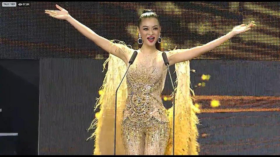 Kiều Loan mặc jumpsuit trình diễn dạ hội, khán giả xem Miss Grand 2019 há hốc với hình ảnh lạ kỳ-2
