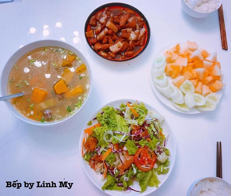 Khéo tay hết phần thiên hạ, vợ Huy Cung khoe thực đơn cả tuần không trùng bữa nào-3