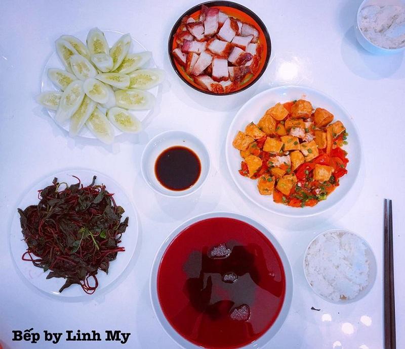 Khéo tay hết phần thiên hạ, vợ Huy Cung khoe thực đơn cả tuần không trùng bữa nào-4