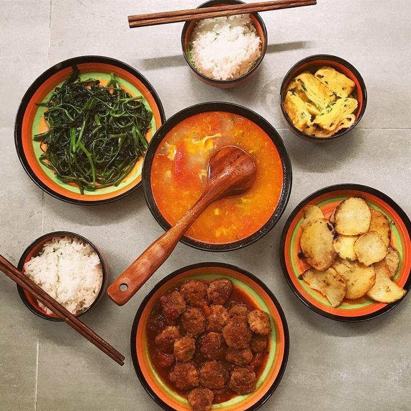 Khéo tay hết phần thiên hạ, vợ Huy Cung khoe thực đơn cả tuần không trùng bữa nào-7