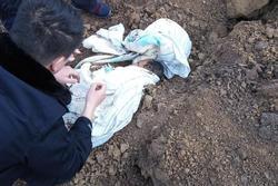 Đi theo tiếng kêu lạ, hai nông dân phát hiện một bé trai bị chôn sống