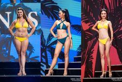 Thí sinh Miss Grand 2019 lộ 'đùi ếch, bụng mỡ, da sùi' khi trình diễn bikini, bao gồm cả Kiều Loan Việt Nam