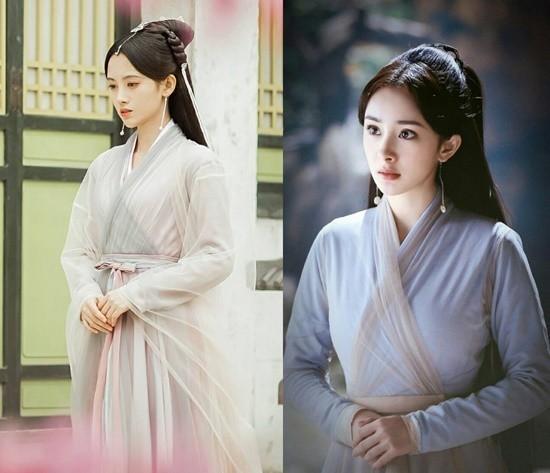 Trịnh Sảng bị phát hiện diện lại đồ cũ của Dương Mịch trong phim Tân Thiện nữ u hồn-5