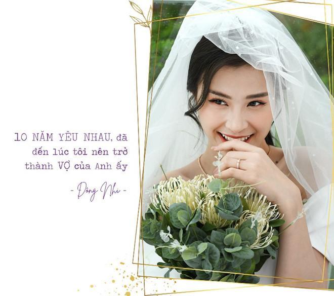 Đông Nhi - Ông Cao Thắng khiến fans sốt xình xịch với ngôn tình thanh xuân trước đám cưới-8