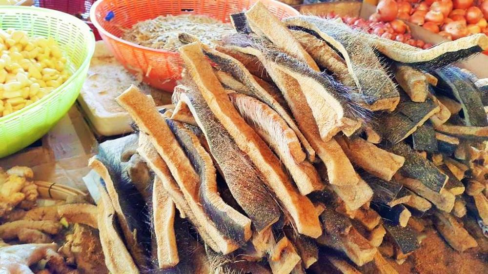Da trâu thối - món ăn khoái khấu của đồng bào Tây Bắc đánh thức vị giác cực mạnh-1