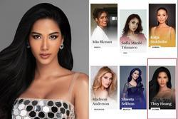 Bản tin Hoa hậu Hoàn vũ 25/10: Hoàng Thùy lộ diện trên trang chủ Miss Universe, nhan sắc chẳng giống ai