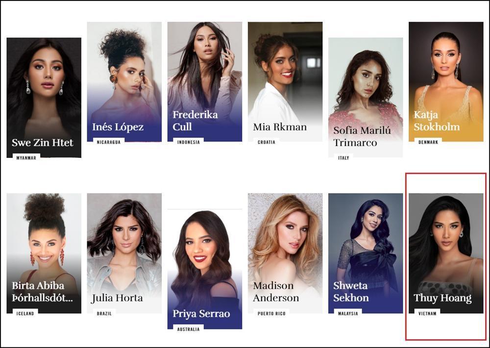 Bản tin Hoa hậu Hoàn vũ 25/10: Hoàng Thùy lộ diện trên trang chủ Miss Universe, nhan sắc chẳng giống ai-1