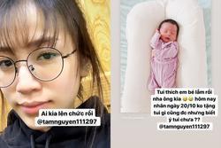 Chưa đầy 2 tháng lấy chồng, tiểu thư Joyce Phạm ngầm thông báo Minh Nhựa lên chức ông ngoại