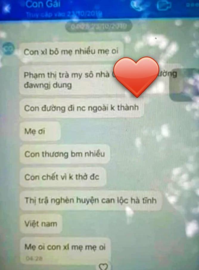Xót xa đoạn tin nhắn của cô gái Hà Tĩnh gửi cho mẹ nghi bị chết vì không thở được trong quan tài thép chứa 39 thi thể ở Anh-4