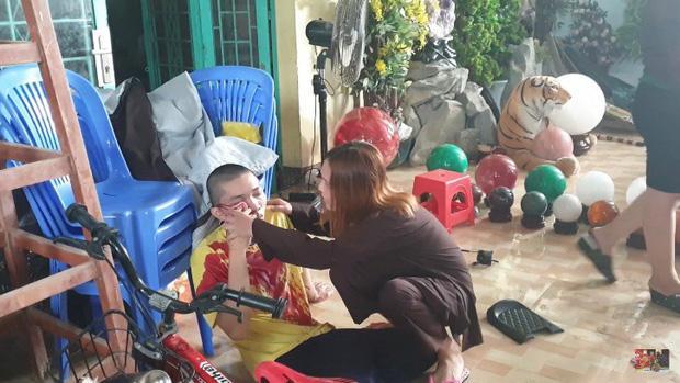 Tịnh thất Bồng Lai nơi nuôi dưỡng 5 chú tiểu bị 50 người lạ đập phá, một sư thầy bị đánh chảy máu-2