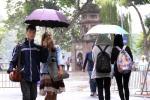 Không khí lạnh tăng cường, mưa lớn bao trùm miền Bắc
