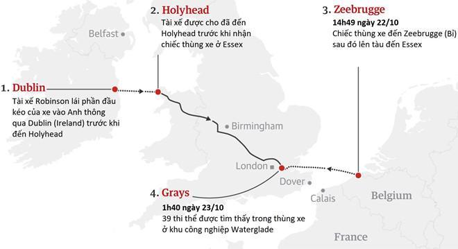 Vụ 39 người chết trong thùng container: Gia đình chi 900 triệu đồng để cô gái Hà Tĩnh được sang Anh-4