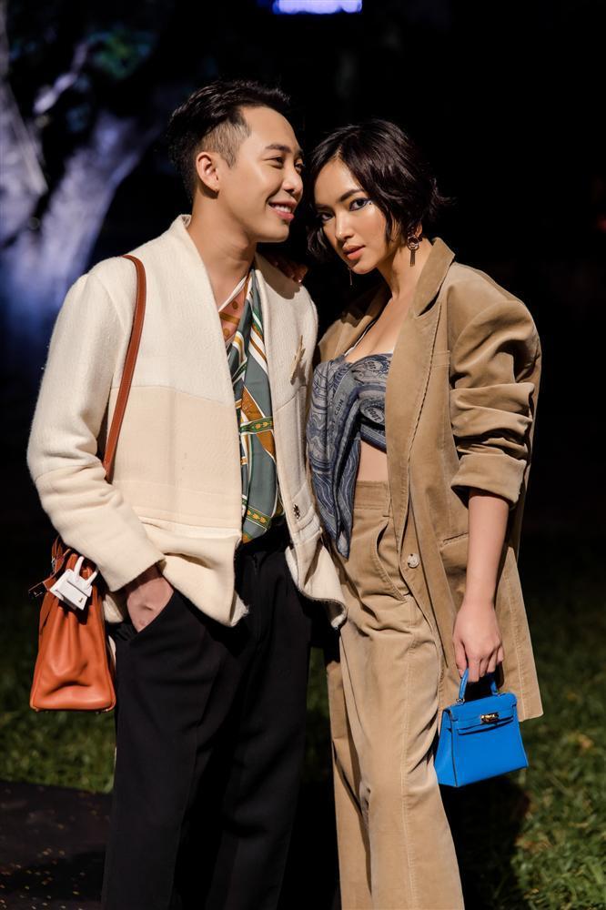 Châu Bùi và Hoàng Ku quấn khăn làm áo cũng không nữ tính bằng NTK Lý Quí Khánh-2