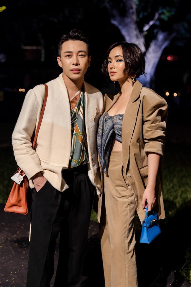 Châu Bùi và Hoàng Ku quấn khăn làm áo cũng không nữ tính bằng NTK Lý Quí Khánh-3