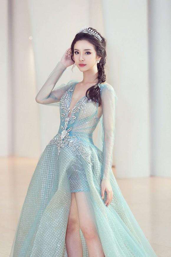 Đỗ Mỹ Linh - Lan Ngọc - Minh Hằng đồng loạt hóa thân thành công chúa cổ tích đẹp nức nở tuần qua-5