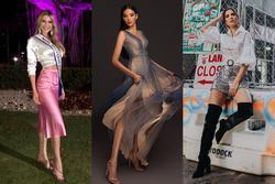 Bản tin Hoa hậu Hoàn vũ 27/10: Hoàng Thùy lên đồ xuất sắc 'chặt đẹp' hai đối thủ nặng đô