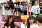 Những cô gái 10X xếp hàng dự buổi thi tuyển tại TP.HCM của ông chủ BTS