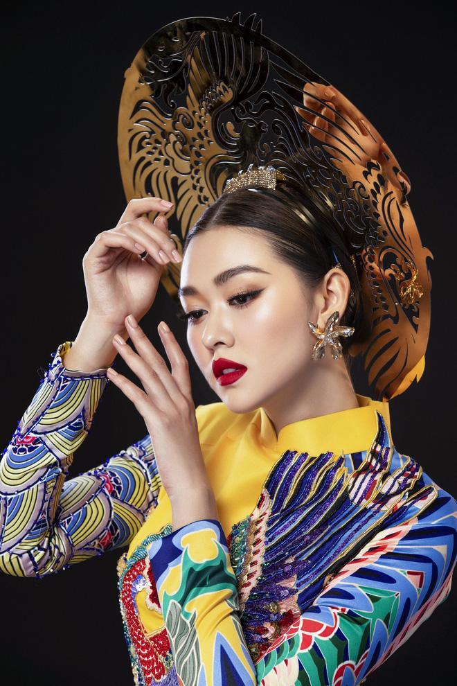 Vừa sang Nhật thi Miss International, Tường San đã tiết lộ hẳn 2 bộ áo dài cực kỳ hoành tráng để thi Quốc phục-7