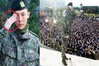 Vừa được chào đón trở về như ông hoàng, G-Dragon (Big Bang) đã ăn ngập 'đá tảng' vì chào sai quy cách quân đội