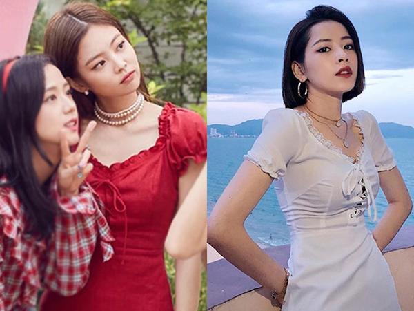 Từng hạ đo ván Jisoo khi đụng hàng vậy mà Chi Pu lại kém sang hơn Jennie vì như mặc đồ fake-8