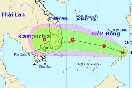 Biển Đông xuất hiện vùng áp thấp, có thể mạnh thành bão