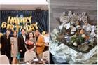 Giữa nghi vấn hẹn hò bách hợp, Hoàng Thùy Linh tặng hoa mừng sinh nhật mẹ Gil Lê ghi chữ 'Happy birthday Má'