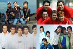 Bốn nhóm nhạc mỹ nam Vpop một thời giờ ra sao?