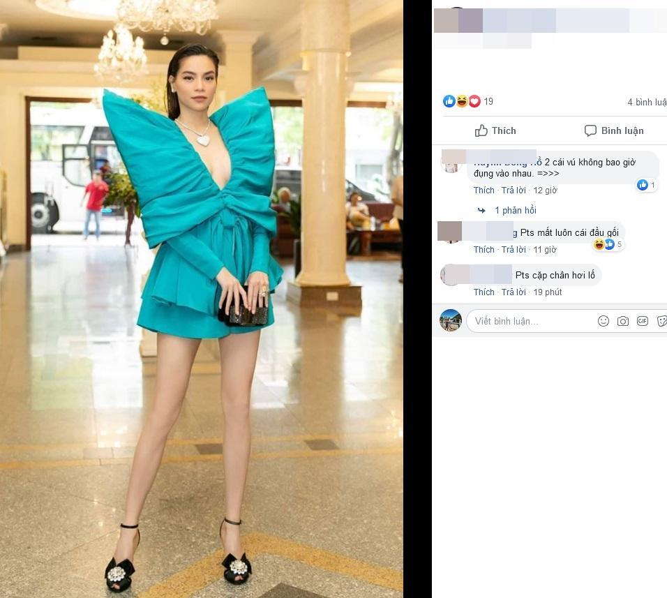 Hồ Ngọc Hà nối gót Phượng Chanel photoshop quá lố đến mất luôn đầu gối gân guốc-5