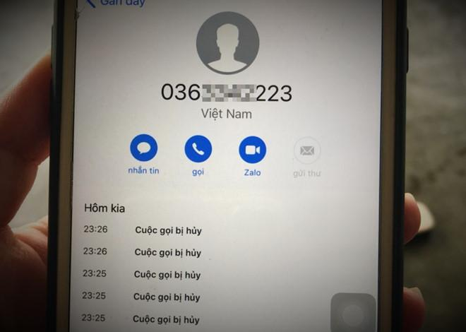 Xác minh số điện thoại nghi của cò mồi đưa người đi Anh-1
