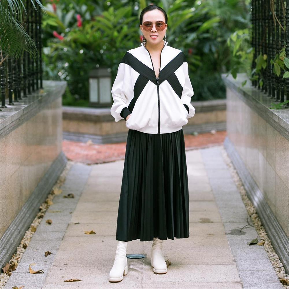 Nghiện mặc váy maxi giấu chân, Phượng Chanel mắc lỗi khiến dùng đồ hiệu mà chẳng thấy sang-4