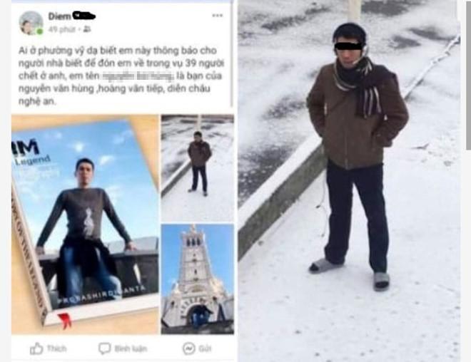 Xác minh việc 2 thanh niên ở Huế và Quảng Bình mất tích khi sang Anh-2