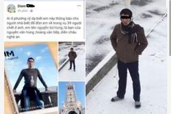 Xác minh việc 2 thanh niên ở Huế và Quảng Bình mất tích khi sang Anh
