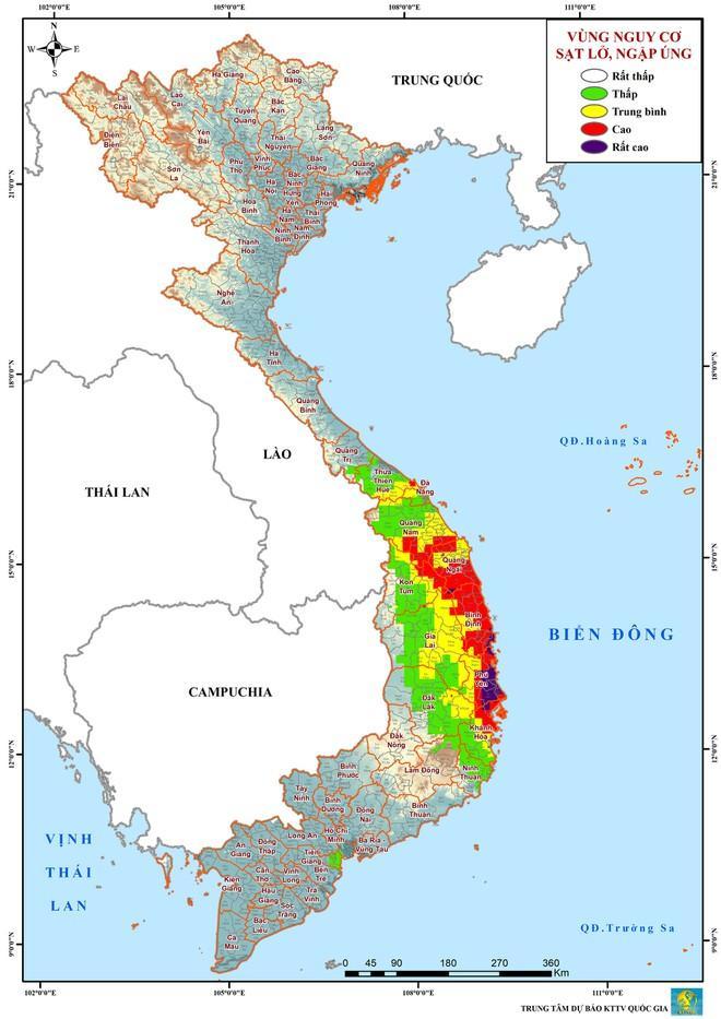 Bão số 5 cách đất liền hơn 100 km, giật cấp 12-2
