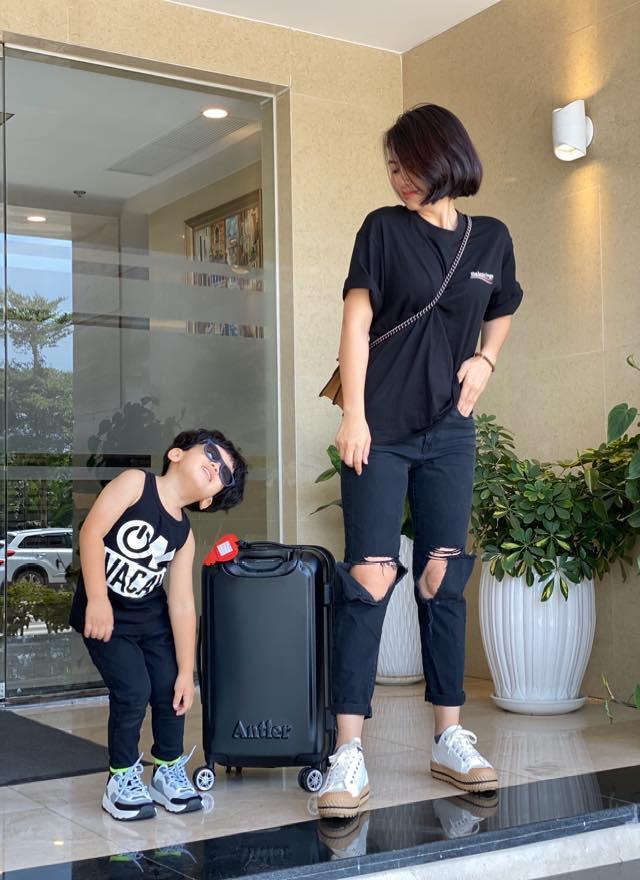 Ngọc Lan du lịch cùng con trai, khán giả thắc mắc về Thanh Bình-2