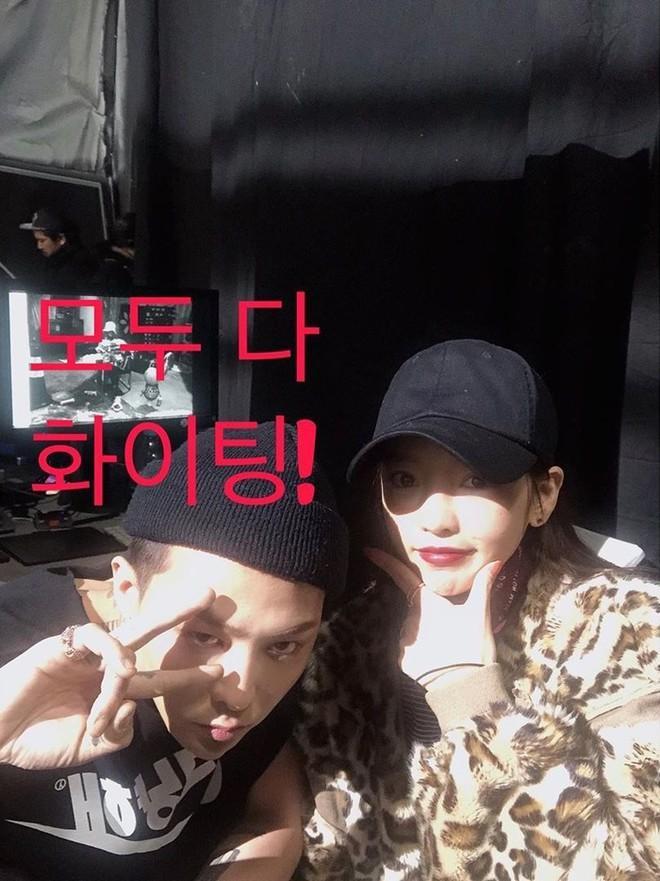 Goo Hara xóa ảnh chụp với G-Dragon sau 30 phút đăng tải-1