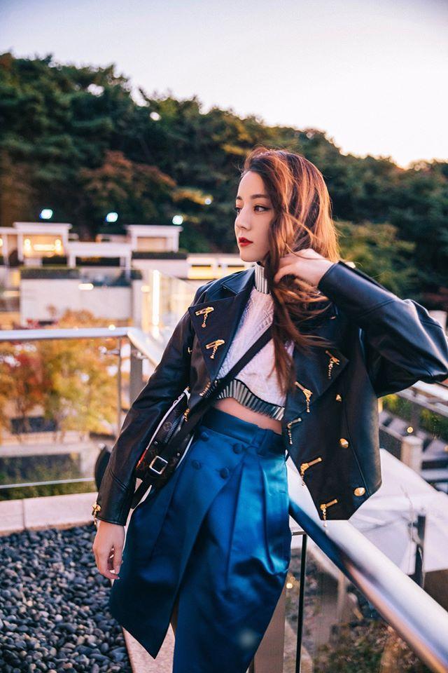 Truyền thông Hàn hết lời khen ngợi nhan sắc mỹ nữ Tân Cương Địch Lệ Nhiệt Ba-13