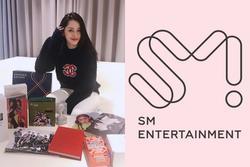 Fan Kpop hoa mắt ghen tị với 'núi quà' SM Entertainment tặng riêng Chi Pu