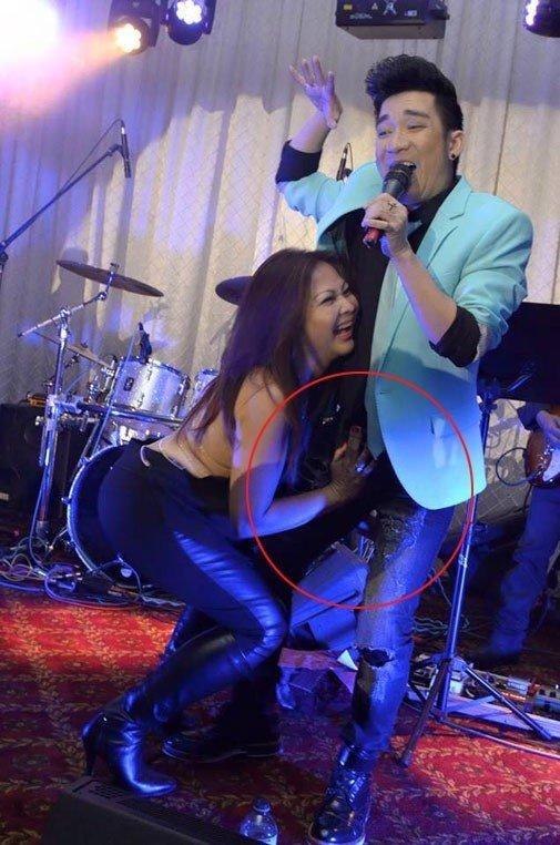 CHUYỆN GÌ ĐÂY: Đang nhảy sung trên sân khấu, S.T Sơn Thạch bị khán giả vồ thẳng vào bộ phận nhạy cảm-2